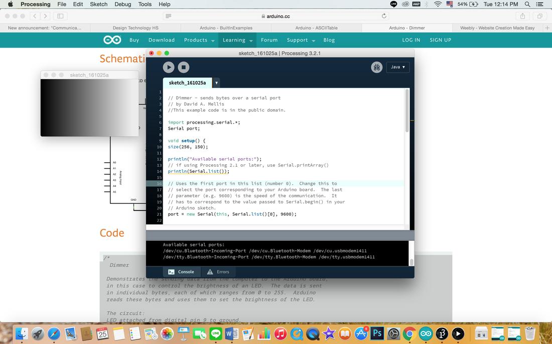 Arduino - Processing: Graph - Mimielove55